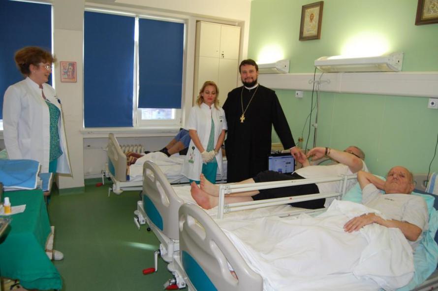 Arhiepiscopia Timişoarei a sprijinit modernizarea Clinicii de Chirurgie Vasculară din Timișoara