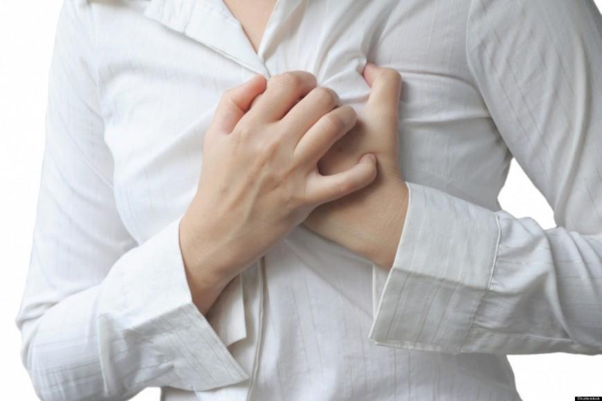 6 simptome care prevestesc un atac de cord
